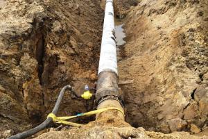 Maģistrālā gāzes vada spiediena tests