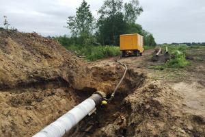 Испытание магистрального газопровода давлением