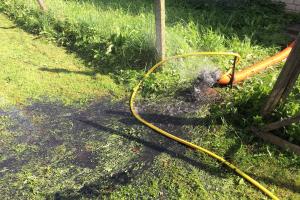 Барбеле, промывка и дезинфекция скважины