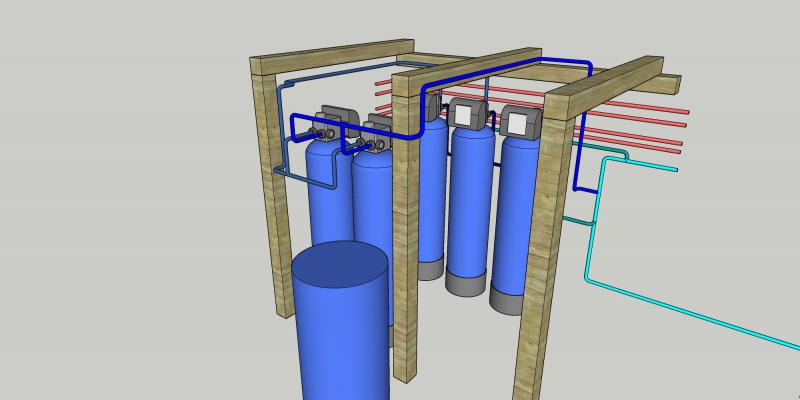 Ūdens filtru uzstādīšana